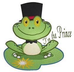 Wedding Frog Prince embroidery design