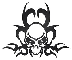 Tattoo Skull embroidery design