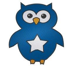 Patriotic Owl embroidery design