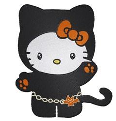 Halloween Kitty embroidery design