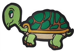 Cute Turtle embroidery design