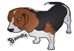 Beagle Pup embroidery design