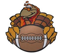 Turkey Football embroidery design