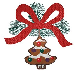 Christmas Tree Ornament embroidery design