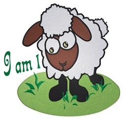 I Am 1 embroidery design