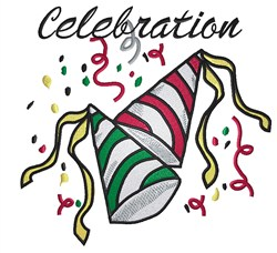 Time To Celebrate! embroidery design