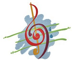 Music For The Soul embroidery design