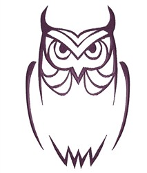 Feeling Owly embroidery design