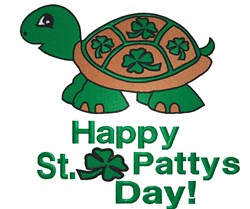 Happy St. Pattys Day! embroidery design