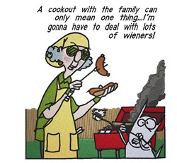 Maxine Cookout embroidery design