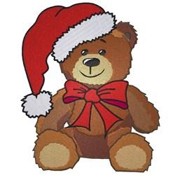 Christmas Teddy Bear embroidery design