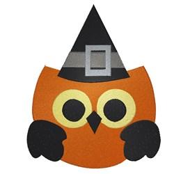 Halloween Owl embroidery design