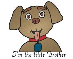 Cute Cartoon Dog embroidery design