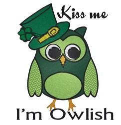 Im Owlish embroidery design