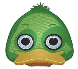 Ducky Face embroidery design