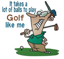 Golf Like Me embroidery design