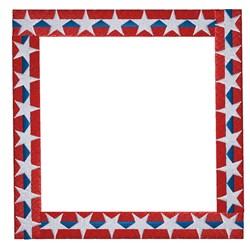 Patriotic Border embroidery design
