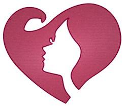 Diva Heart embroidery design