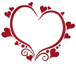 Heart Of Hearts embroidery design