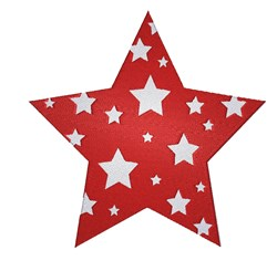 Decorating Christmas Star embroidery design