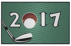 Golf Team 2017 embroidery design