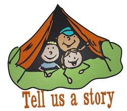 Tell A Story embroidery design