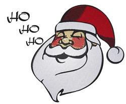 Jolly Santa Head embroidery design
