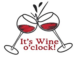 It Is Wine embroidery design