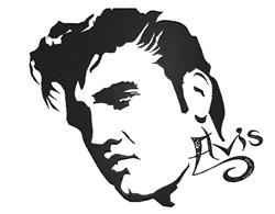 Elvis Presley The Celebrity embroidery design