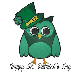 Happy St. Patricks Day! embroidery design