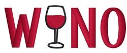 Wino embroidery design