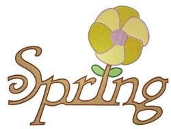 Spring Flower embroidery design