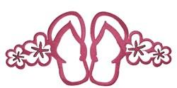 Flip Flop Border embroidery design