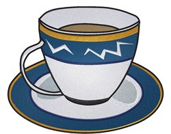 Cup Of Coffee embroidery design