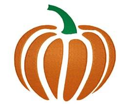 Pumpkin Stencil embroidery design