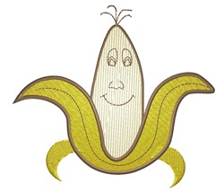 Cartoon Banana embroidery design