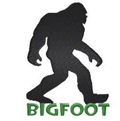 Bigfoot embroidery design