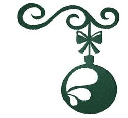 Ornament Silhouette embroidery design