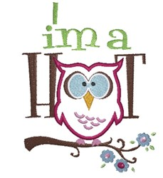 Im A Hoot! embroidery design