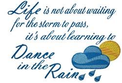 Dance In Rain embroidery design