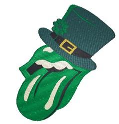 St.Patricks Tongue embroidery design