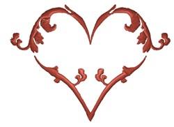 Fancy Heart embroidery design