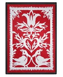 Framed Birds embroidery design
