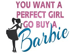 Buy A Barbie embroidery design