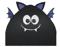 Funny Bat embroidery design