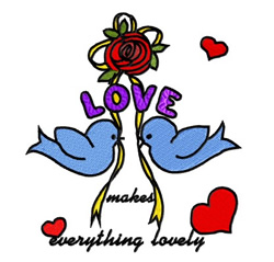 Everything Lovely embroidery design
