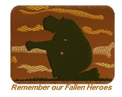 Remember embroidery design