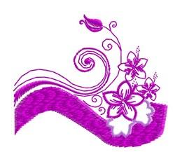 Hibiscus Design embroidery design