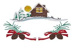 Christmas Home embroidery design