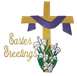 Easter Greetings embroidery design